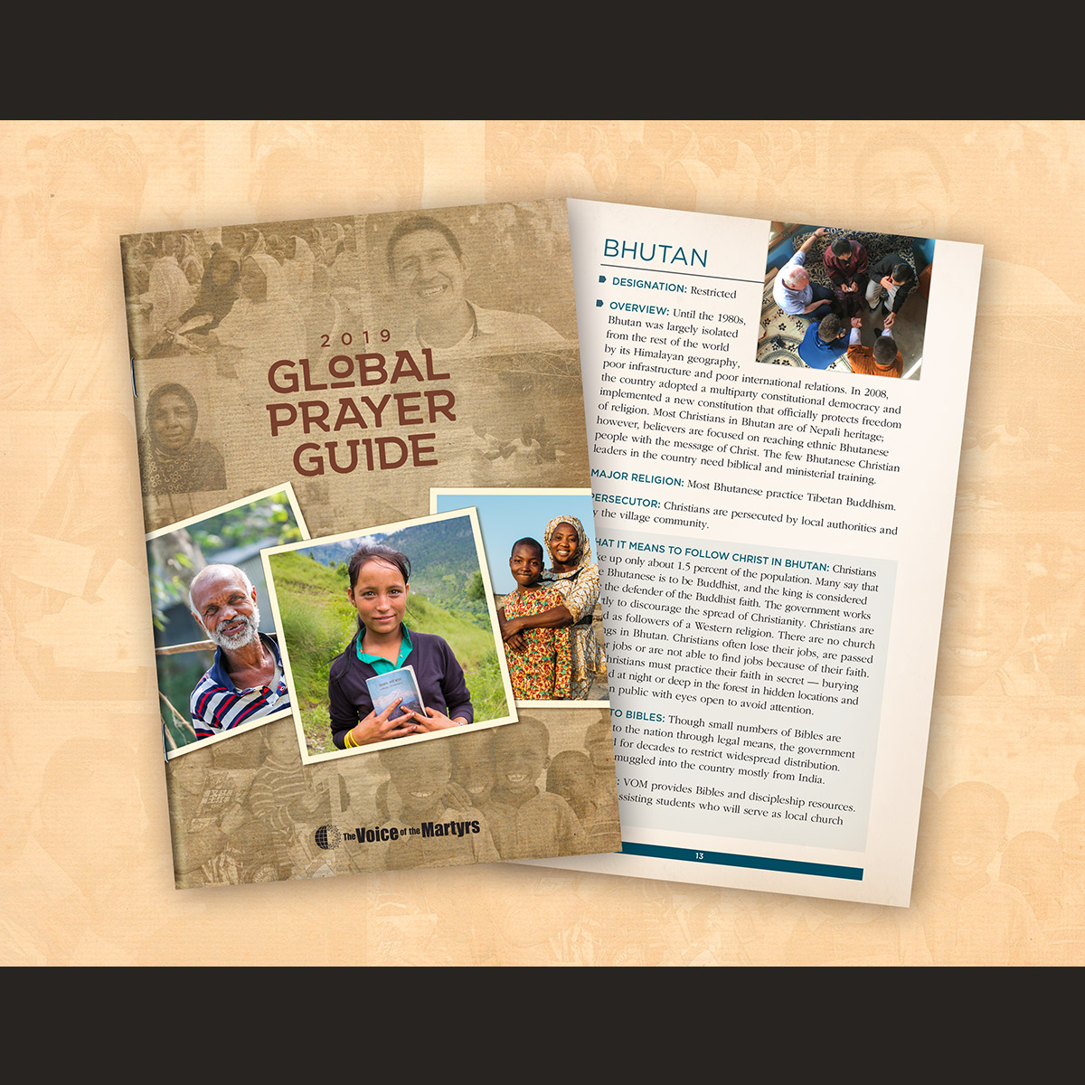 Global Prayer Guide - The Voice of the Martyrs