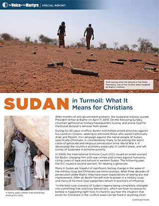 Sudan Report Cover