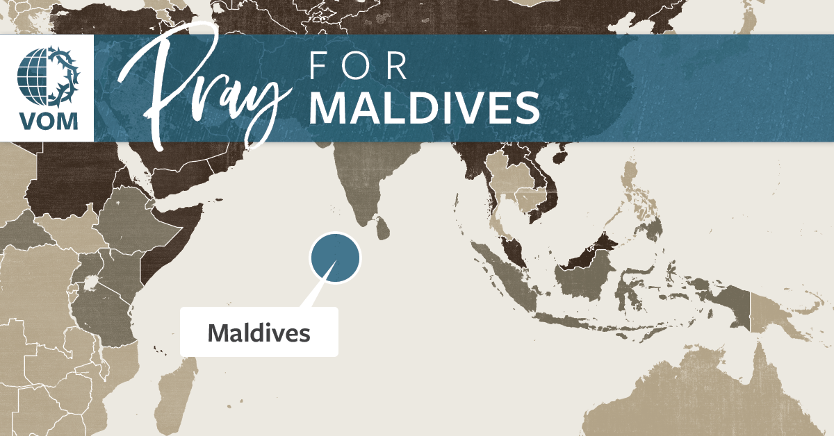 Map of Maldives's location