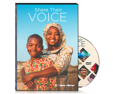Cover of Share Their Voice DVD with Disc